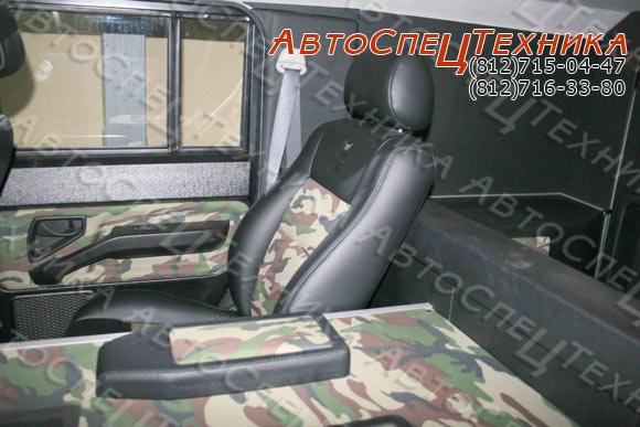 ГАЗ-2330 Тигр - комплектация 'Лимитед'