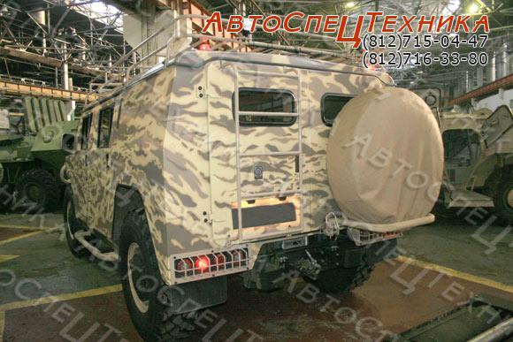 ГАЗ-2330 Тигр - комплектация 'Люкс'